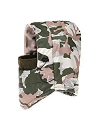 Adjustable Skiing Hat Windproof Waterproof Wind Caps Warm Face Cover Army Green