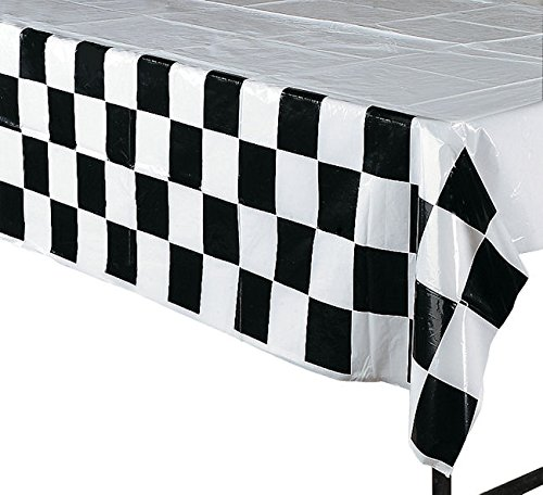 Party Supplies Racing Decorations Party Bundle Black White Checkered