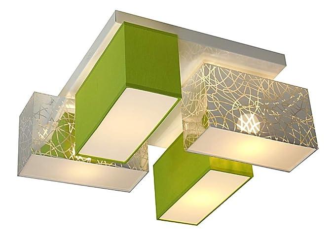 Plafoniera Tessuto Design : Wero design eris 001 a plafoniera 4 luci base in metallo 37 x