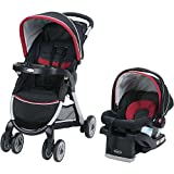 Graco FastAction Fold Click Connect Travel System - Weave