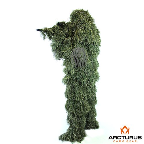 Review Ghost Ghillie Suit (Woodland, Young Adult)