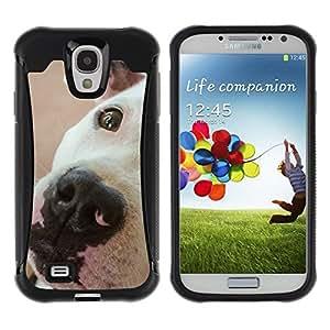Suave TPU GEL Carcasa Funda Silicona Blando Estuche Caso de protección (para) Samsung Galaxy S4 IV I9500 / CECELL Phone case / / American Pit Bull Terrier Dog Breed /