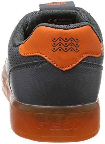 Ginnastica da Grigio Kommodor – Basse Scarpe Adulto Geox Grey J Unisex B Orange Dk xIHqUwXwv