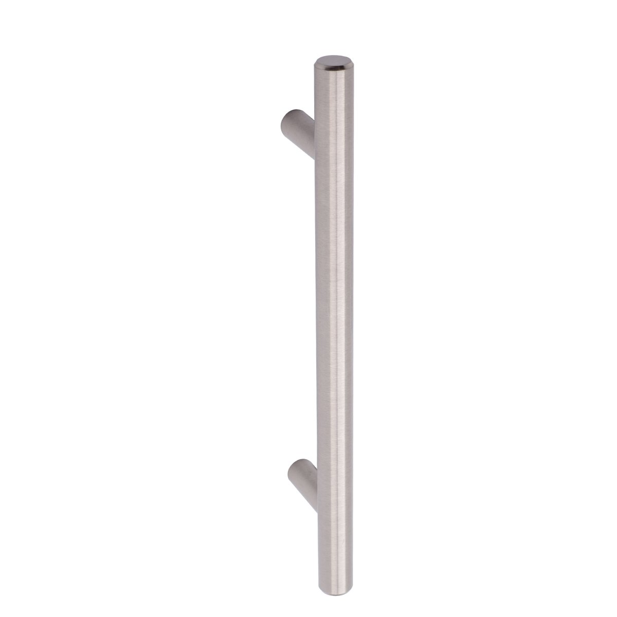 AmazonBasics Euro Bar Kitchen Cabinet Handle 1/2 Inch Diameter, 7.38 Inch Length, 5 Inch Hole Center, Satin Nickel, 25-Pack by AmazonBasics (Image #3)