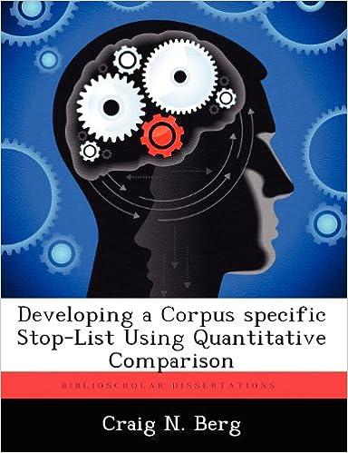Developing a Corpus Specific Stop-List Using Quantitative Comparison