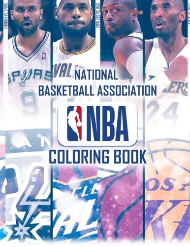 D.o.w.n.l.o.a.d National Basketball Association Coloring Book: Famous NBA Players and Team Logos<br />KINDLE