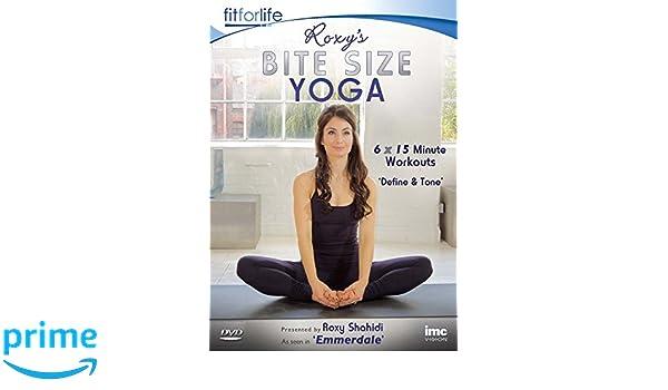 Roxys Leyla from Emmerdale ITV1 Bite Size Yoga Define & Tone ...