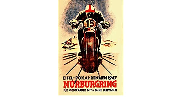 Blechschild Motorrad Biker Parking only Metallschild Wanddeko tin sign