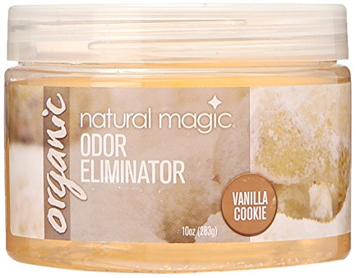 Natural Magic Vanilla Cookie Organic Odor Eliminating Gel, 10-Ounce