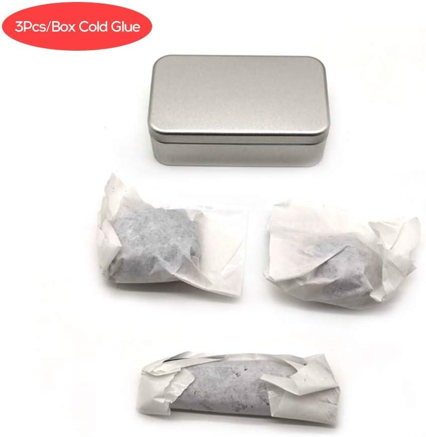 Ajzar 3Pcs//Box Car Collis Dent Cold Glue Boxed Cold Glue Free Sheet Metal Car Tooth Tool