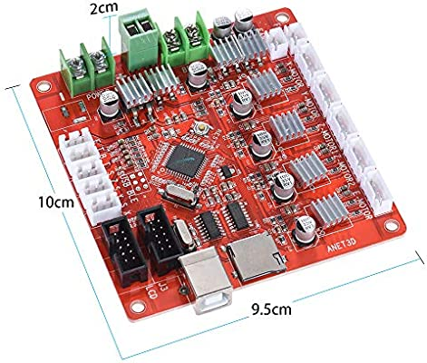 Anet A8 placa base impresora 3D partes Anet A8 partes Control ...
