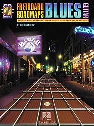Fred Sokolow Fretboard Roadmaps Blues Guitar Gtr Book/Cd