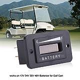 Led Digital Battery Indicator Meter Gauge Golf