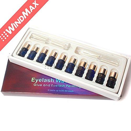 Boxed Perm Eyelash Curling Perming Curler Kit Eyelashes Wave Lotion Eye Rod Set -