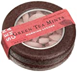 SEN CHA Green Tea Mints, Morning Lychee, 1-Ounce Tins (Pack of 9)