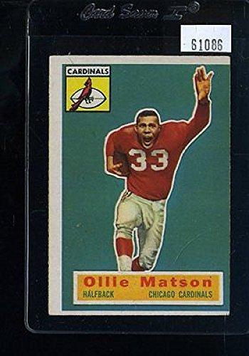 1956 TOPPS #58 OLLIE MATSON SP EX *61086
