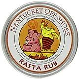 Nantucket Off-Shore Rasta Rub, 2.5 Ounce Tins (Pack of 6)