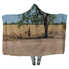 Main Material: Ultra Soft Premium Fabric Printed Outside Front ,Made of high quality fleece, completely resistant to shrinking and wrinkling Back.  Item Name: Hooded Blanket For Adult Child Fleece Wearable Throw Blanket Microfiber Bedding  Fa...