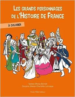 Amazonfr Les Grands Personnages De Lhistoire De France à
