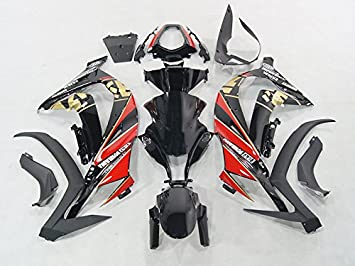 Amazon.com: Moto Onfire ABS Plastic Injection Mold Fairing ...