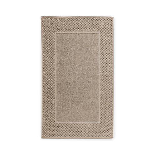 Chortex Honeycomb 100% Turkish Cotton, Bath Mat-Pack of 1, Flax