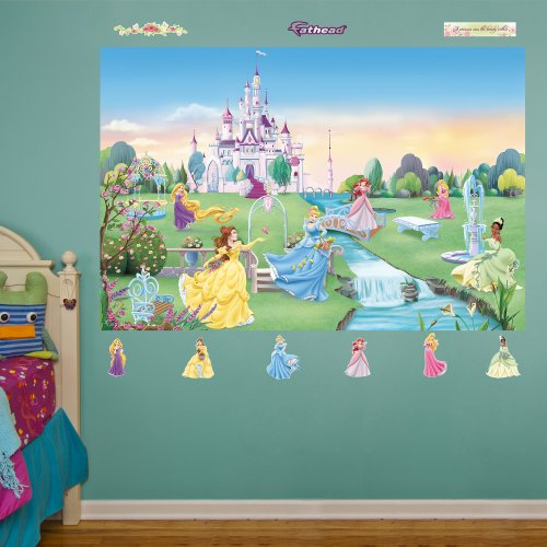 - FATHEAD Disney Princess Mural Graphic Wall Décor