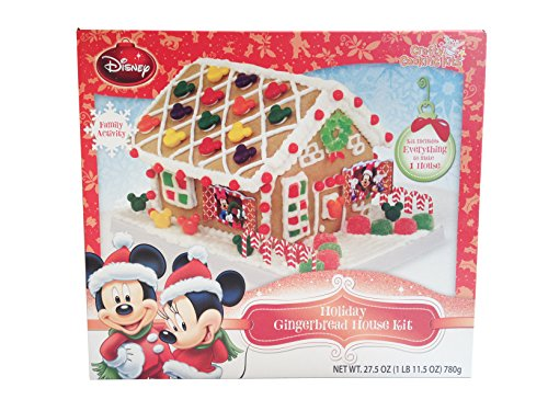 Mickey Holiday House Cookie Kit 07373 (Cookie House Kit)