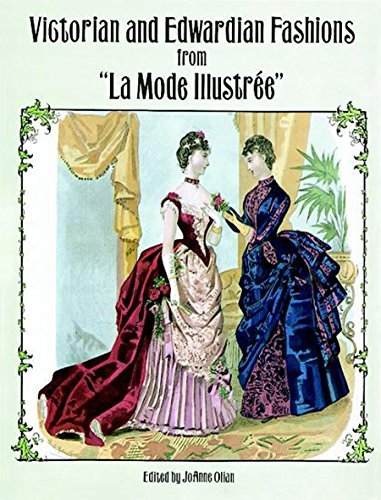 Victorian and Edwardian Fashions from La Mode Illustr?de?ed??ede??d???e for sale  Delivered anywhere in USA