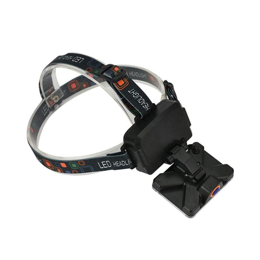 Exteriores Linterna Frontal Ultra Brillante LED 1 Cuenta de l/ámpara COB Linterna Frontal Linterna Frontal de la Linterna para Acampar