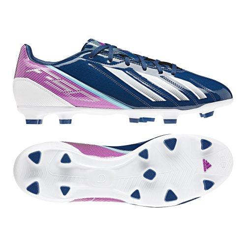 Adidas F10 Trx Fg Tacchetti Da Calcio - Blu / Bianco / Rosa