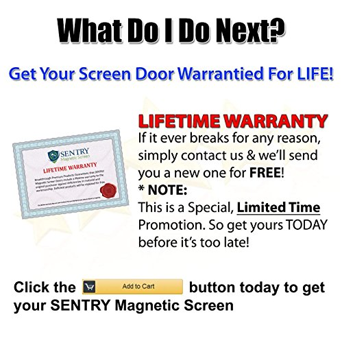 MAGNETIC SCREEN DOOR Many Sizes and Colors to Fit Your Door Exactly US Military Approved Reinforced With Full Frame Hook and Loop Fasteners to Ensure All Bugs Are Kept Out Tough and Durable