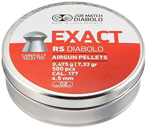 JSB Diabolo EXACT RS .177 Caliber Air Gun Pellets