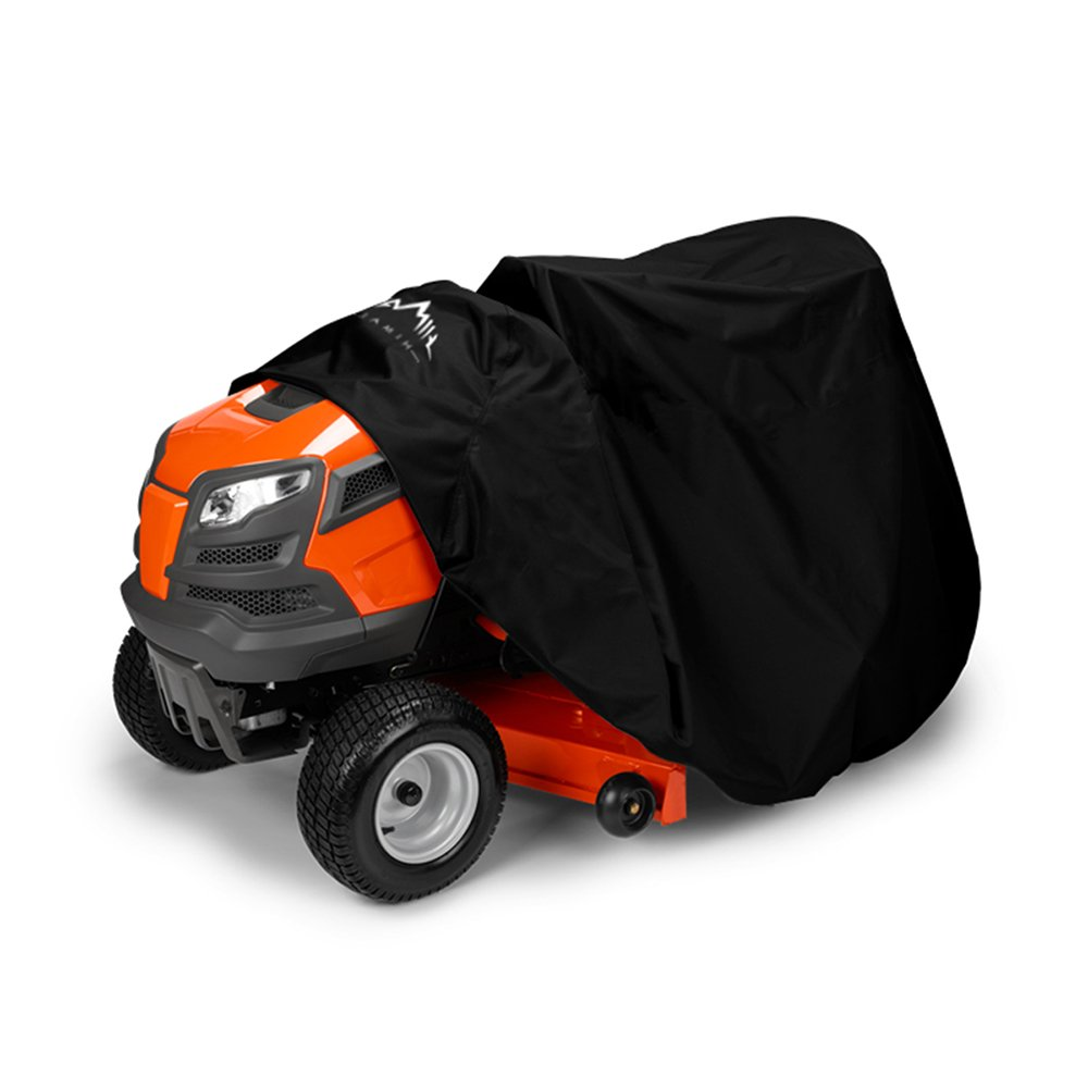 Himal Outdoors Lawn Mower Cover -Tractor Cover Fits Decks up to 54'' Storage Cover Heavy Duty 210D Polyester Oxford, UV Protection Universal Fit with Drawstring & Cover Storage Bag by Himal Outdoors