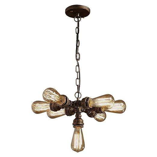 Amazon.com: OYI Mid Century Sputnik - Lámpara de araña con 7 ...
