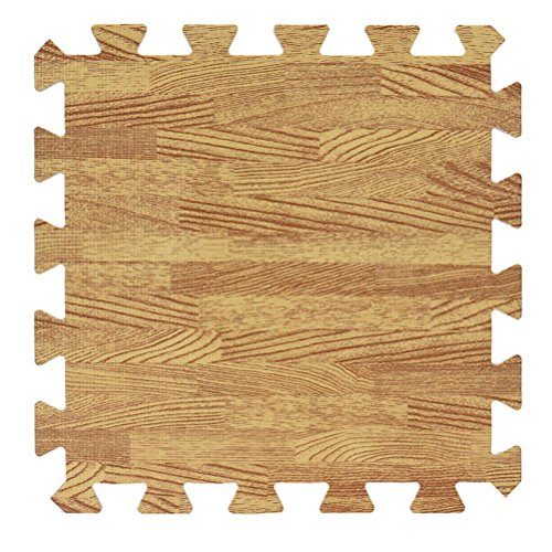Solid Color Eva Foam Puzzle Splice Floor Mat - 6