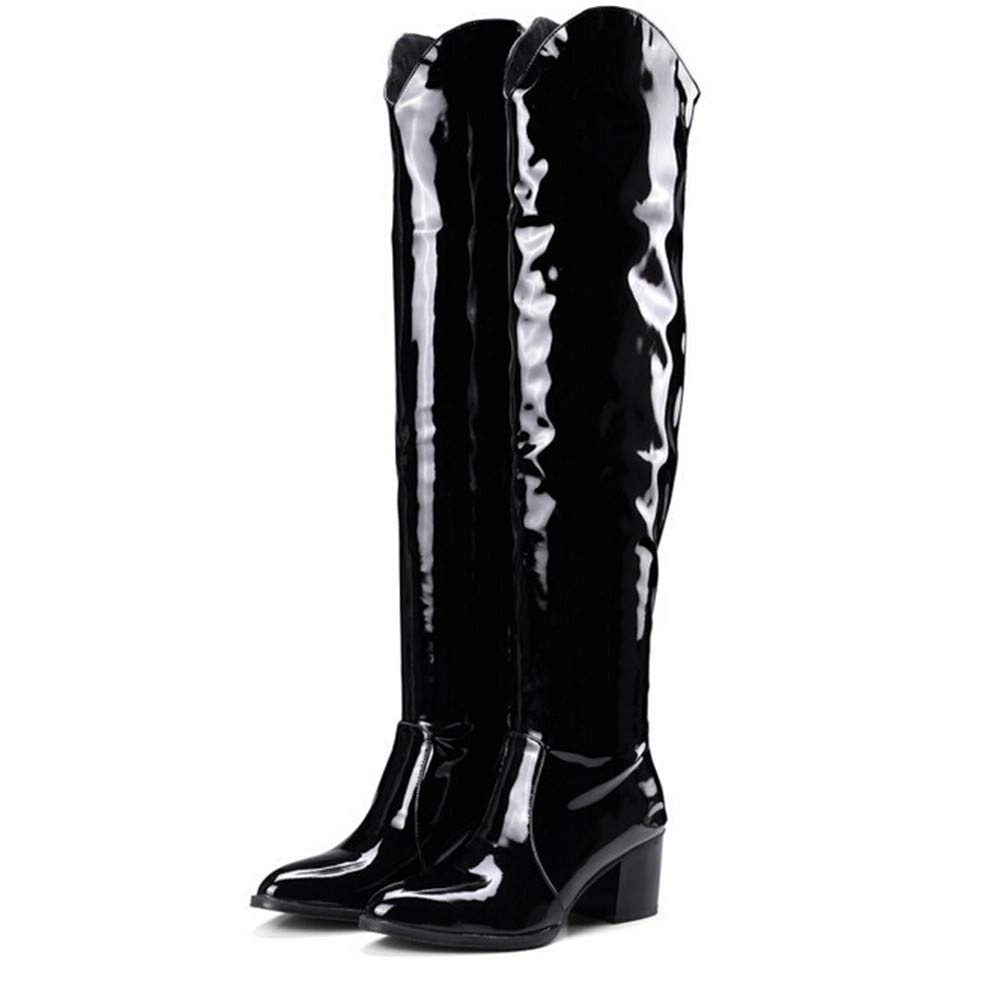 Lurryly❤Womens Fashion Winter Over The Knee Boots Ankle Boot Martin Bootie Shoes