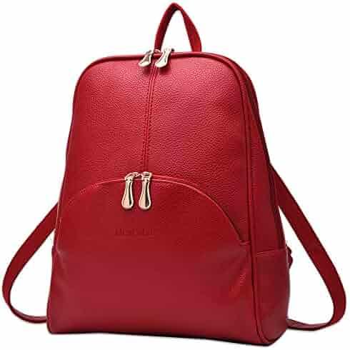 Nevenka Brand Women Bags Backpack Purse PU Leather Zipper Bags Casual  Backpacks Shoulder Bags 2ed647e899364