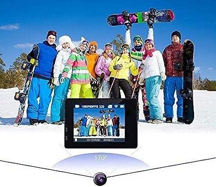RENJUN Cámara Deportiva, Nueva Mini Cámara HD Impermeable Al Aire Libre, WiFi Inalámbrica For Deportes Cámaras de vigilancia: Amazon.es: Hogar
