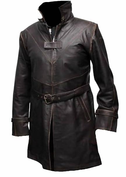 e4128fcc15 Classyak Uomo WD Moda Vera Pelle Cappotto: Amazon.it: Abbigliamento