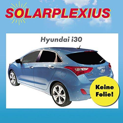 Vorsatzscheiben Hyundai i30 ab Bj Sonnenblenden 2012 Auto Sonnenschutz fertige Keine Folien passgenaue Scheiben T/önung