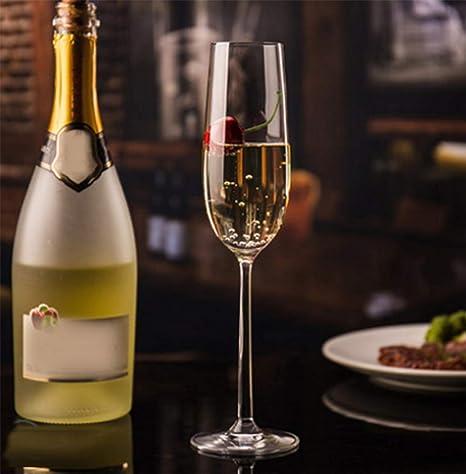 HJX888 Gobelet Verre de Champagne élégant Ensemble de vin