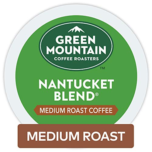 - Green Mountain Coffee Roasters Nantucket Blend Keurig Single-Serve K-Cup Pods, Medium Roast Coffee, 72 Count