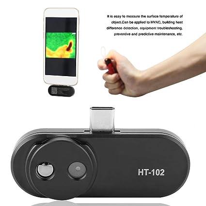 Zunate Cámara de detección térmica del teléfono HT-102 para Android Tipo C Detector de