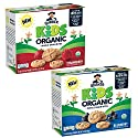 Quaker Kids Organic Whole Grain Bites, 2 Flavor Variety Pack, 1.05oz Pouches, 20 Count