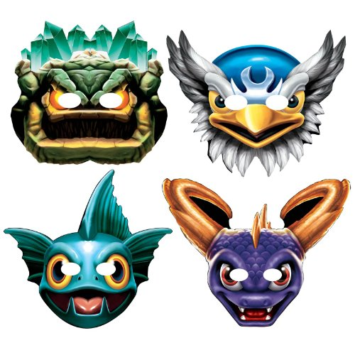 Skylanders Paper Masks Assortment (8)