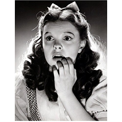 Judy Garland 8x10 Photo The Wizard of Oz A Star is Born Looking Surprised & Scared Hand to Face kn