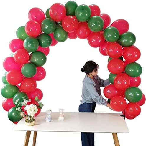 Wener Table Balloon Arch Kit Adjustable for Different Table Sizes Birthday Decorations PartyWeddingWelcome Home and Graduation Decorations【No Balloons】