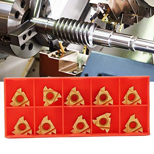CNC-Drehmaschinenwerkzeug, 16ER AG60 Hartmetalleinsätze Außengewindeschneidwerkzeug für die Edelstahlbearbeitung