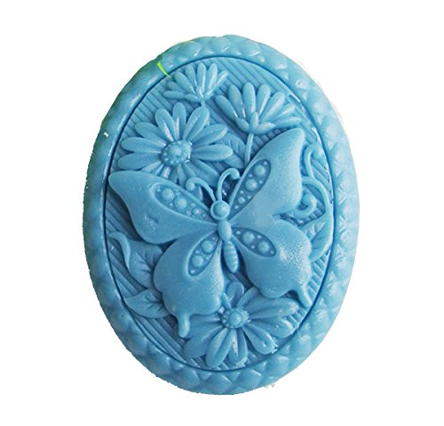 Longzang Butterfly Flowers Mould S439 Craft Art Silicone Soap Mold Craft Molds DIY Handmade Candle Molds