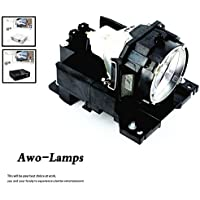 AWODT00771 Premium Replacement Bulb/Lamp with Housing for HITACHI CP-X505 CP-X605 CP-X608